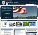Department of Homeland Security screenshot