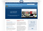 White House Office of National Drug Control Policy screenshot